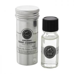 Organic Sage essential oil salvie