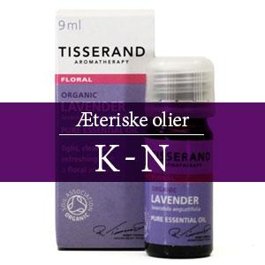 Æteriske olier K-N