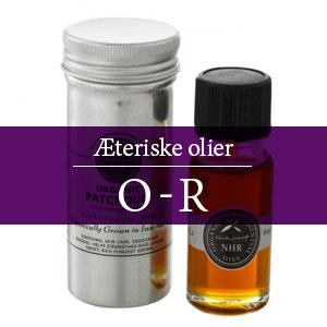 Æteriske olier O-R