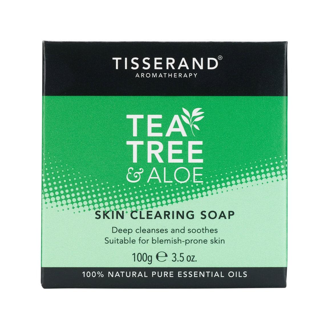 Tisserand Tea Tree Ansigtssæbe