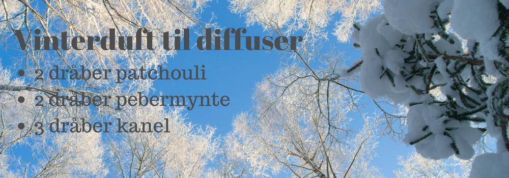 vinterduft til aromadiffuser