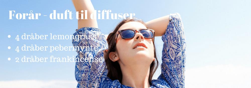 forårsduft til diffuser