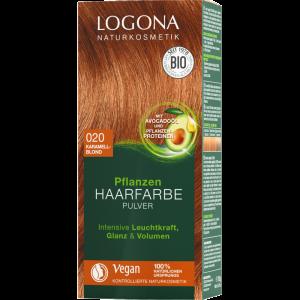 logona hårfarve karamelblond
