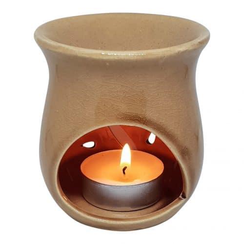 duftlampe karamel aromalampe