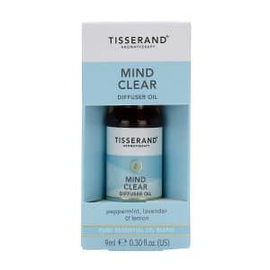 mind clear essential oil blend diffuser