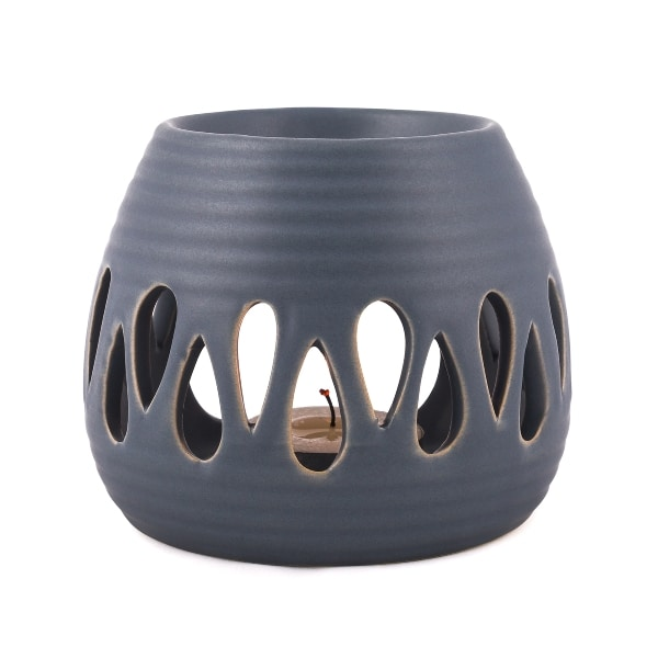 Pajoma duftlampe blå keramik