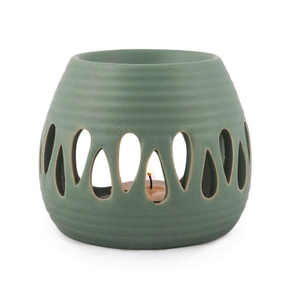 Pajoma duftlampe grøn keramik