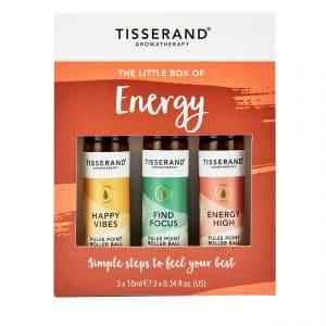 Tisserand Aromatherapy Little Box of Energy Roller Balls