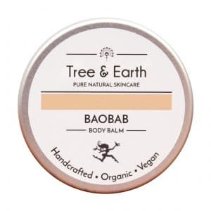 Baobab Body Balm tree and earth creams