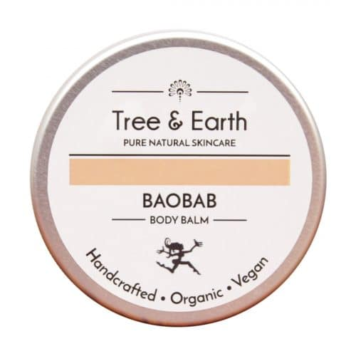 Baobab Body Balm tree and earth creams