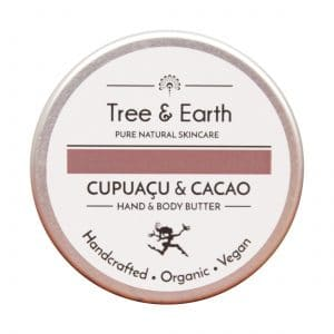 Cupuacu & Cacao Hånd & Kropsmør tree and earth creams