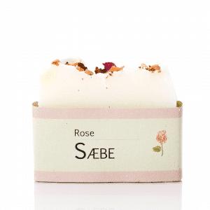 økologisk sæbe med rosenolie