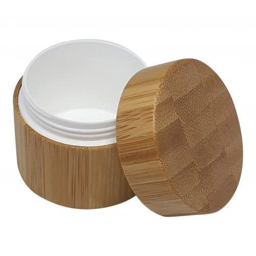 bambus cremebøtte 15 ml