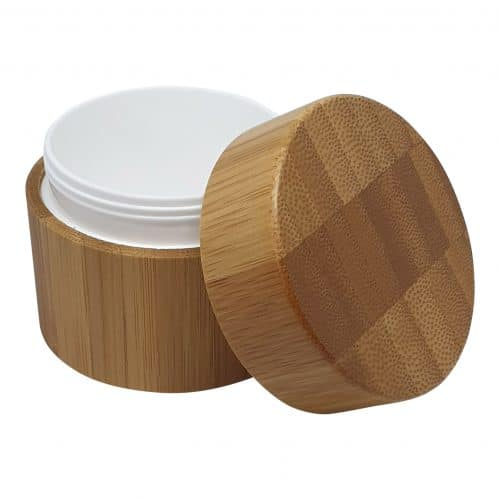 bambus cremebøtte 50ml