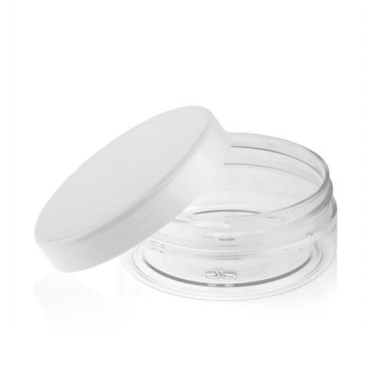 Rund bøtte (klar plast) 50 ml