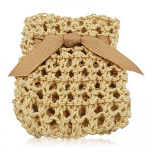 Sæbepose i økologisk bomuld natur