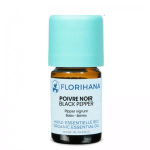 Florihana Sort Peber æterisk olie