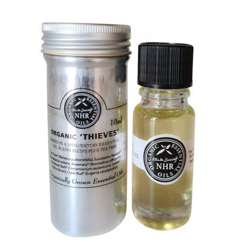 thieves organic essential oil blend NHR Organic Oils