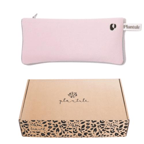yoga øjenpude powder pink plantule pillows