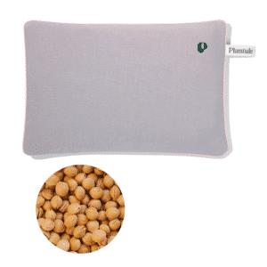 Varmepude med kirsebærsten grå Plantule Pillows