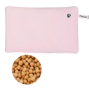 Varmepude med kirsebærsten powder pink plantule pillows