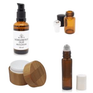 Råvarer & beholdere til kosmetik