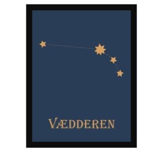 HistoryStars vædderen stjernetegnsplakat