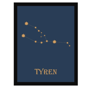 HistoryStars tyren stjernetegnsplakat