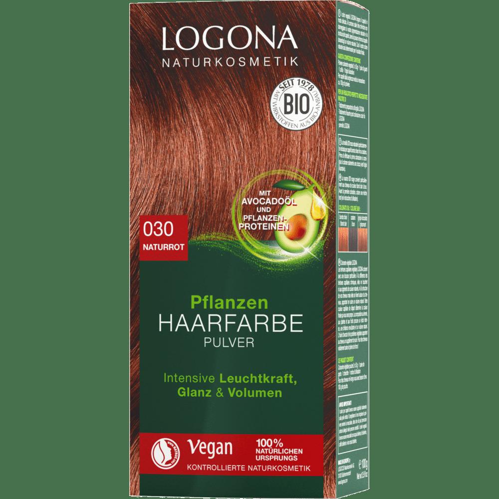 Hair Color Powder Naturrød