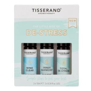 little box of de-stress aroma roll-on