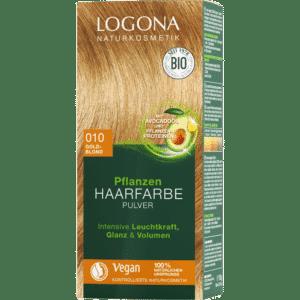 Logona hårfarve pulver gold blond vegansk